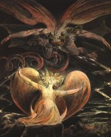 William Blake: The Great Red Dragon and the Woman Clothed with the Sun